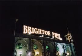 Brighton Pier sign