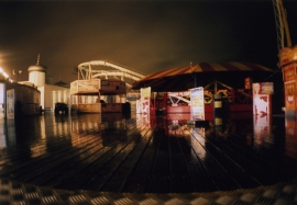 The fairground, Brighton Pier