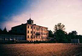 Abandoned Building on Jurmala Beach, Latvia
