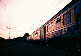 Jurmala Train Station, Latvia