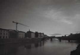 River Arno & Ponte alle Grazie, Florence