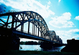 Daugava River Railway Bridge, Riga