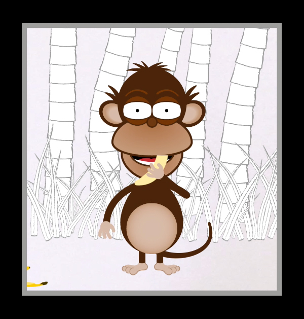 BasicsOfCompProg-Monkey-Eating